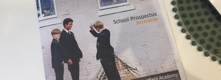 Westfield Academy School Prospectus – Hot off the Press
